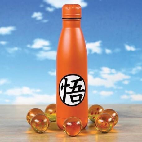 Bouteille Métallique Dragon Ball Z - Goku Kanji