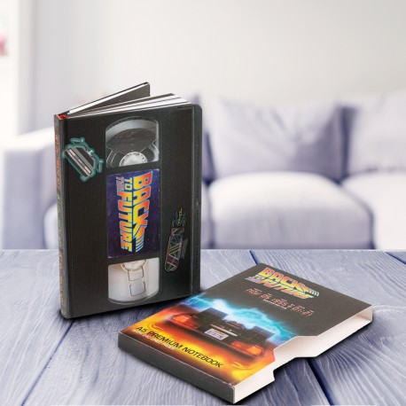 Carnet de Notes Retour vers le Futur VHS Premium