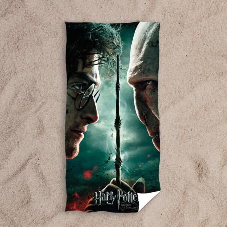 Serviette Harry Potter vs Voldemort
