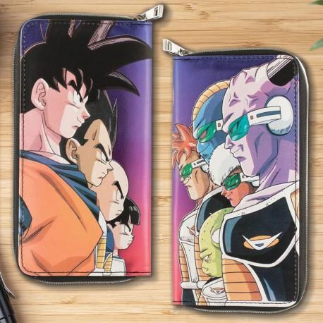 Maxi Portefeuille Coloré Personnages Dragon Ball Z