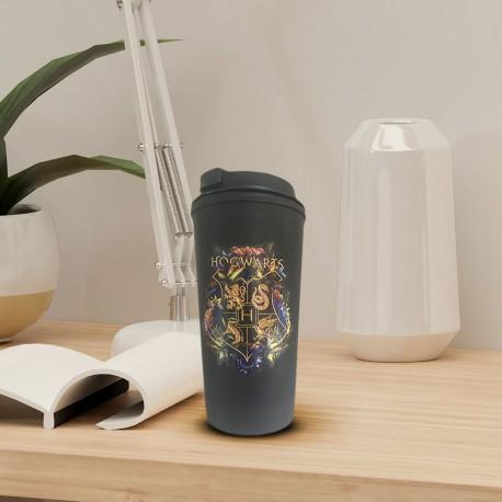 Mug de Voyage Harry Potter Blason Poudlard Deluxe
