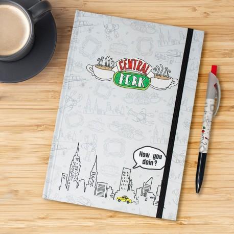 Set Friends Central Perk - Carnet de Notes et Stylo