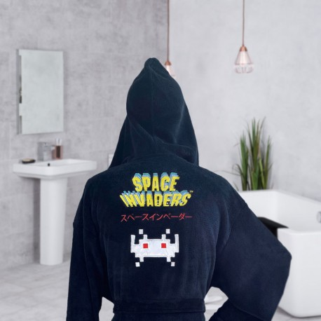 Peignoir Space Invaders Arcade