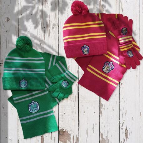 Set Harry Potter : Bonnet, Echarpe et Gants