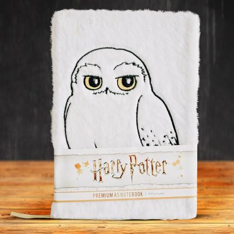 Carnet de Notes Harry Potter Hedwige Premium Fourrure