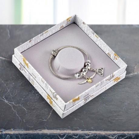 Bracelet Harry Potter Charms - 2 Symboles