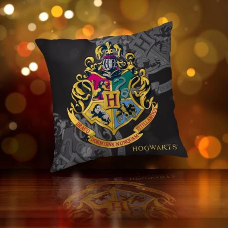 Coussin Harry Potter Blason Poudlard