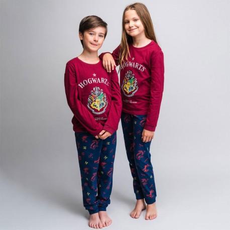 Pyjama Harry Potter Poudlard Manches Longues - Lot de 8