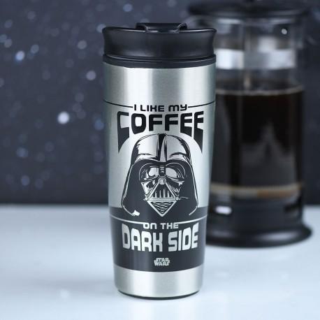 Mug de Voyage Star Wars Dark Vador Métallique - Dark Side