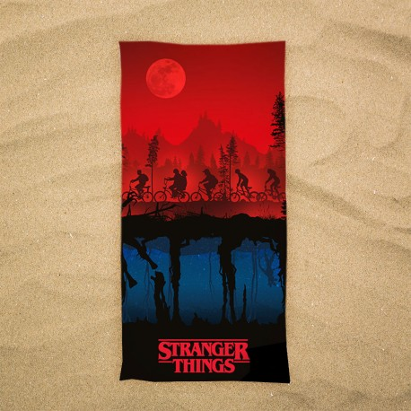 Serviette de Plage Stranger Things