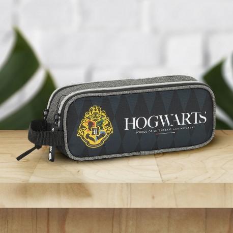 Trousse Double Harry Potter Blason Poudlard