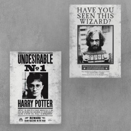 Affiche Harry Potter Avis de Recherche