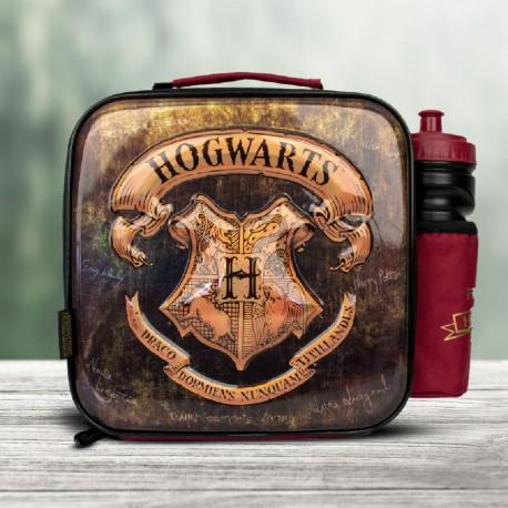 Set Harry Potter Premium Poudlard - Lunch Bag et Gourde
