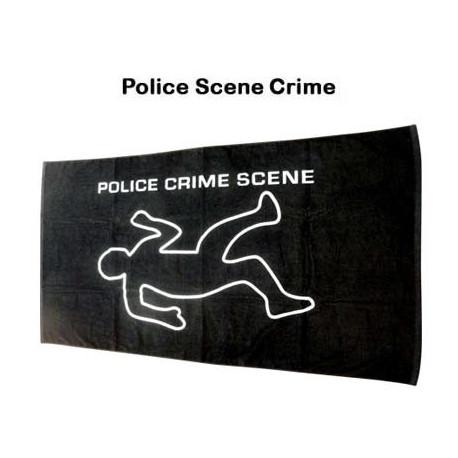 Serviette Scène De Crime