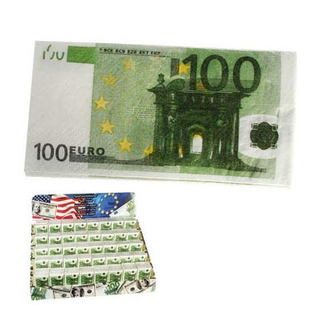 Mouchoirs Billets De 100 Euros