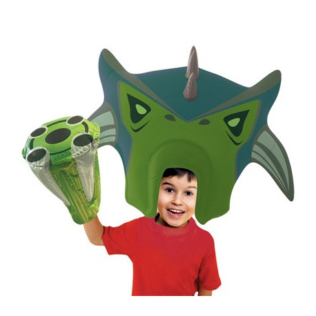 Perruque Ben 10 - Ultimate Humungousaur