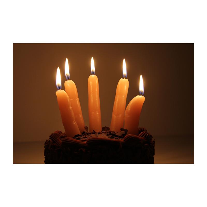 bougies doigts kas design distributeur de cadeaux originaux et gadgets insolites. Black Bedroom Furniture Sets. Home Design Ideas