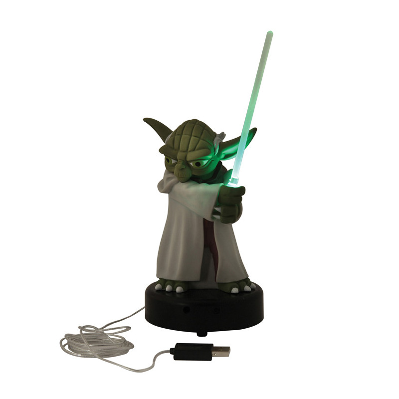 lampe usb yoda star wars kas design distributeur de cadeaux originaux et gadgets insolites. Black Bedroom Furniture Sets. Home Design Ideas