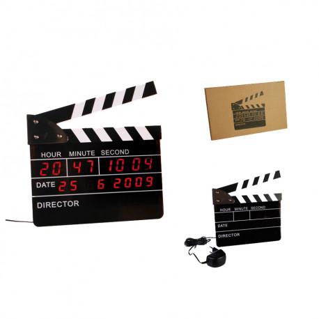 Réveil Clap de Cinéma