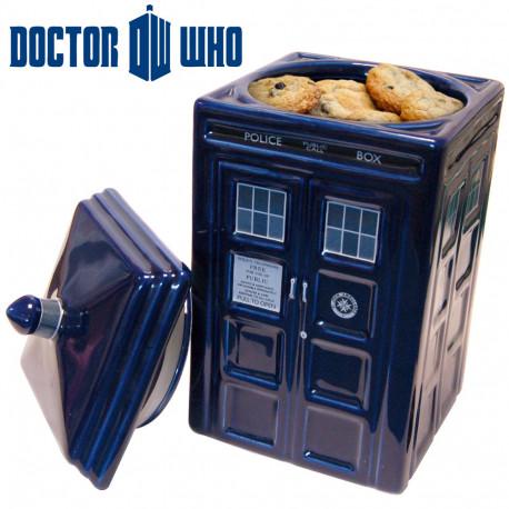 Boîte à Gâteaux Céramique Tardis Docteur Who