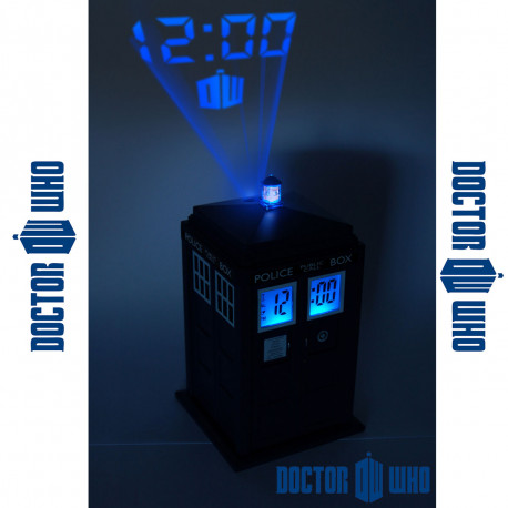 Réveil Tardis Dr Who Projection