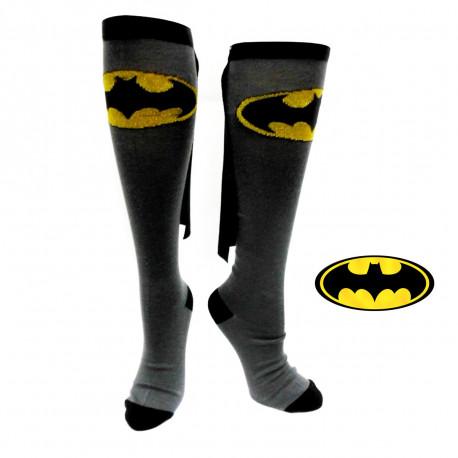 Chaussettes Hautes Batman avec Cape