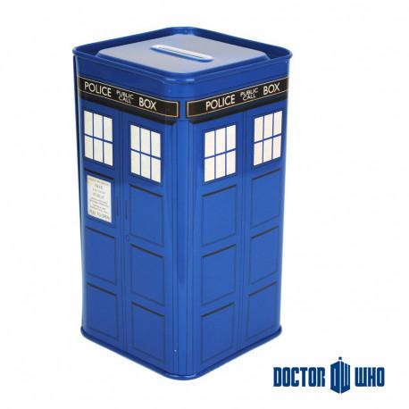 Tirelire Tardis Métallique Dr Who