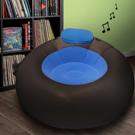 Pouf Gonflable Musical