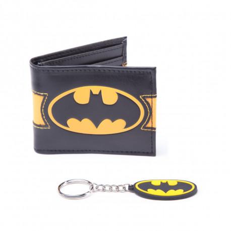 Set Batman Portefeuille et Porte-Clés