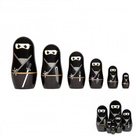 Mini Poupées Russes Ninja