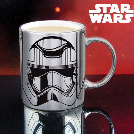 Mug Captain Phasma Chromé Star Wars