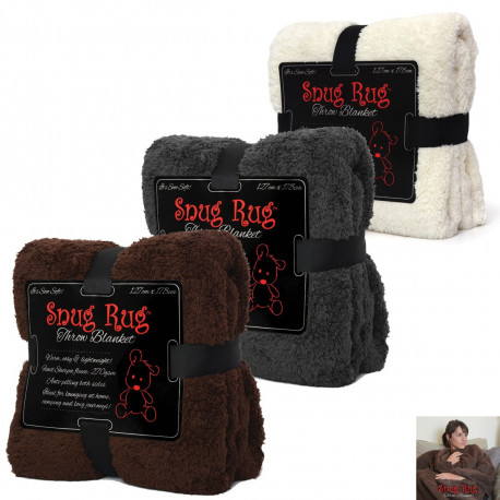 Plaid Snug Rug Deluxe Extra Doux
