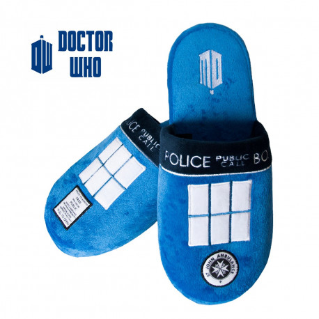 Chaussons Tardis Dr Who