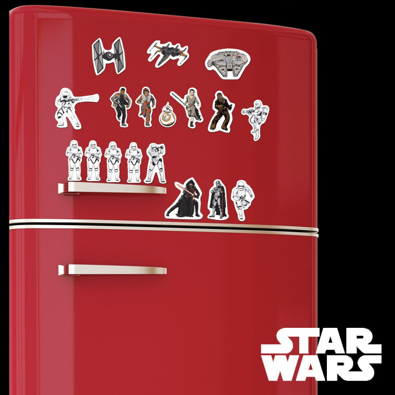 aimants pour frigo star wars episode 7 kas design distributeur de produits star wars. Black Bedroom Furniture Sets. Home Design Ideas