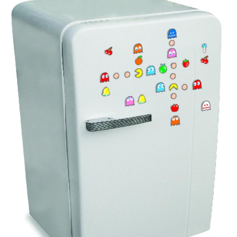 aimants pour frigo pacman kas design distributeur de cadeaux originaux et gadgets insolites