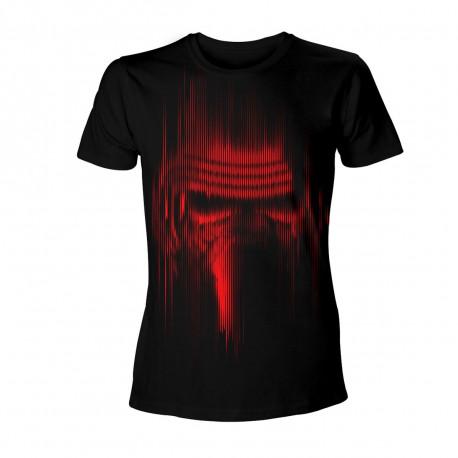 T-Shirt Kylo Ren Star Wars Lignes Rouges