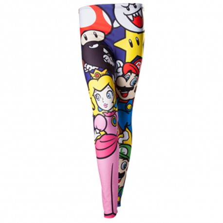 Legging Nintendo Personnages Super Mario Bros