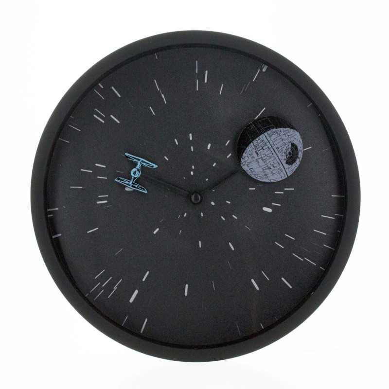 horloge murale star wars force obscure kas design. Black Bedroom Furniture Sets. Home Design Ideas