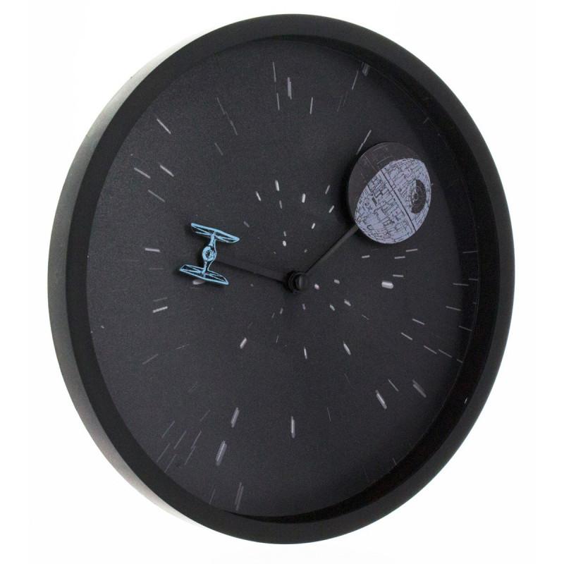 horloge murale star wars force obscure kas design distributeur de produits star wars. Black Bedroom Furniture Sets. Home Design Ideas