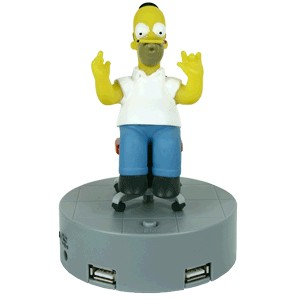 Usb Hub 4 Ports Simpsons Anime