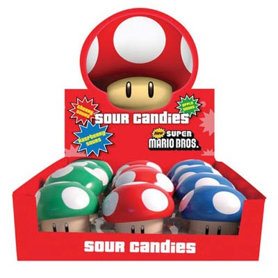 Süßigkeit Pilze<br> Nintendo Super<br>Mario Bros.
