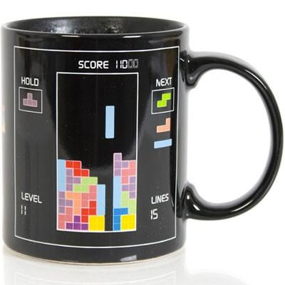 Tetris mug<br>thermoreactive