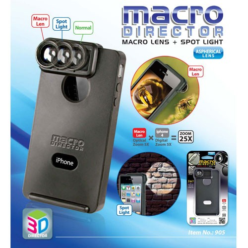 Case with<br> Magnifier Optical<br>Zoom for iPhone