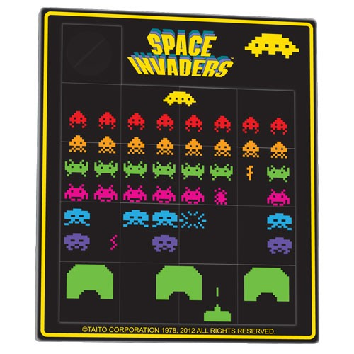 Sliding Puzzle<br>Space Invaders