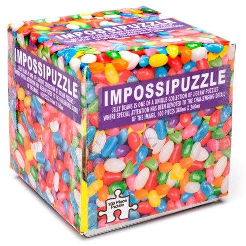 Impossipuzzle Cube<br>Candy Jelly Beans