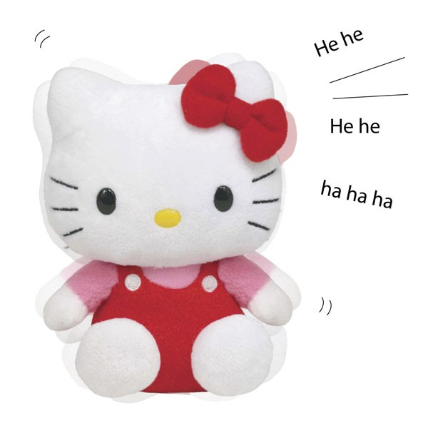Hilarious plush Hello Kitty