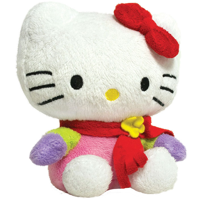 Hand Warmer Plush Hello Kitty