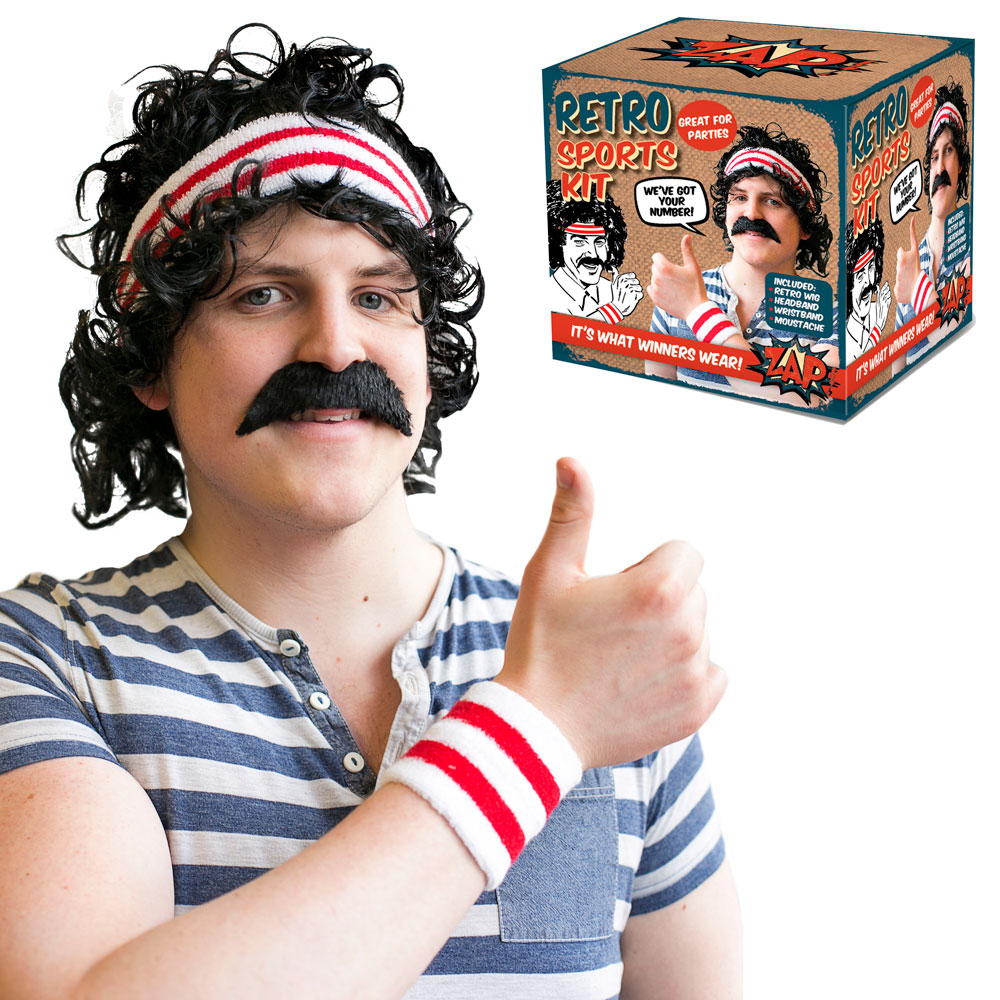 Disguise Kit Retro Sport