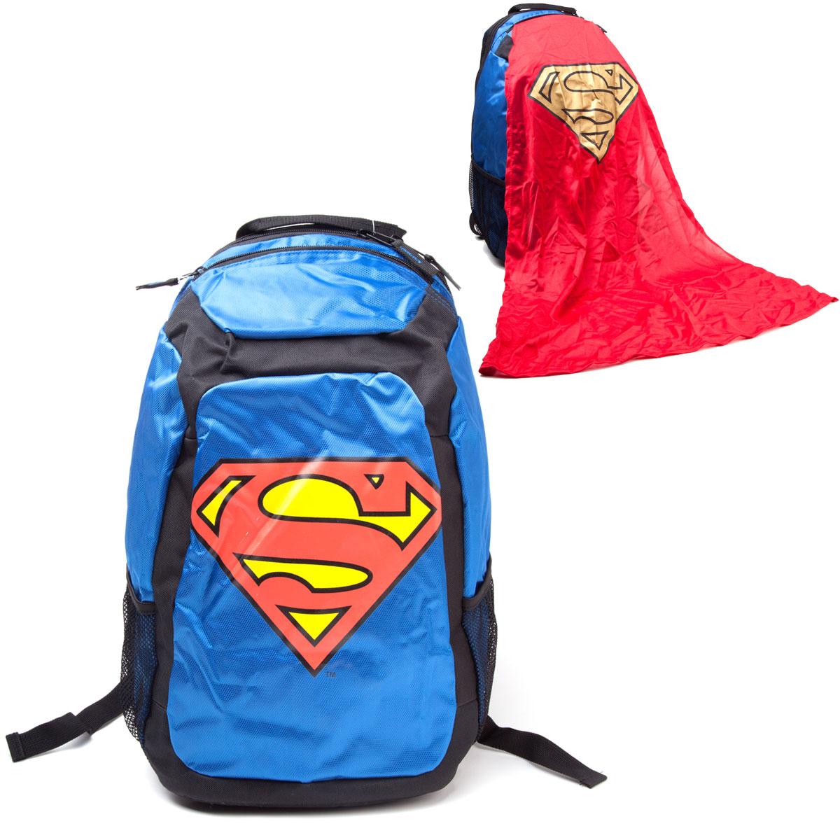 Superman Rucksack<br>mit Cape