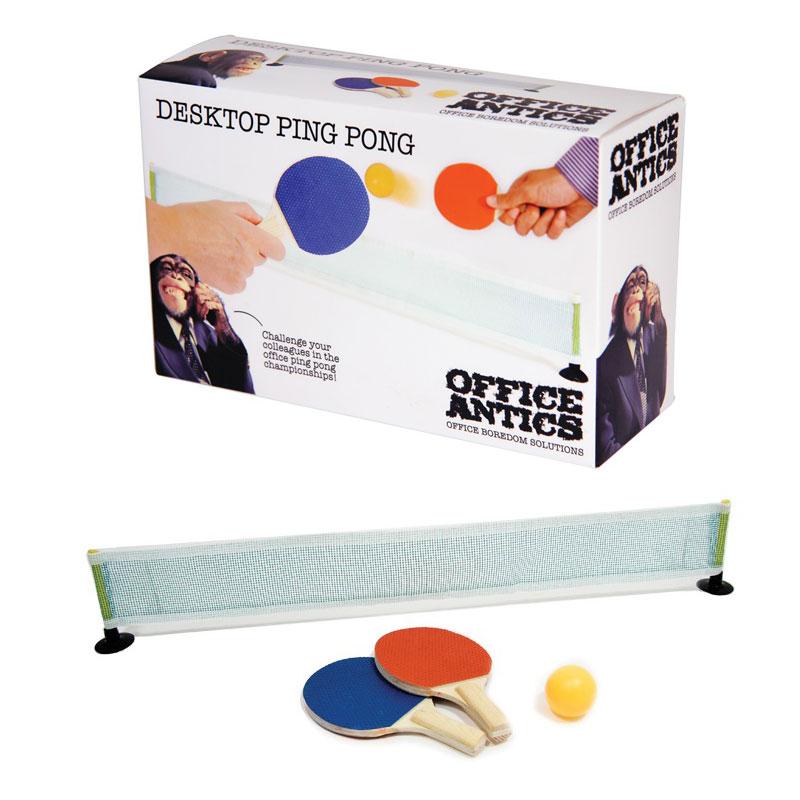 Set Mini Ping Pong<br>für das Büro